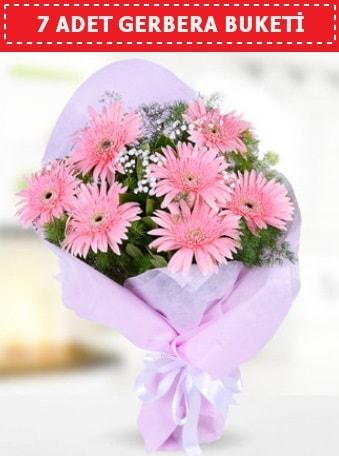 Pembe Gerbera Buketi  Karaman internetten çiçek siparişi