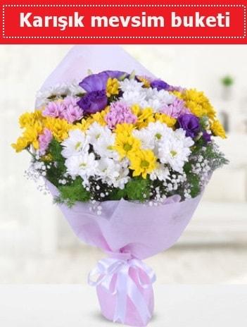 Karışık Kır Çiçeği Buketi  Karaman çiçek gönderme