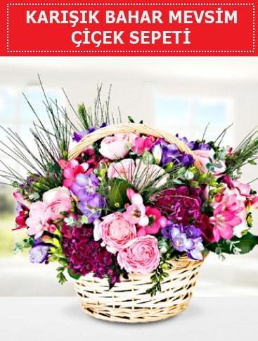 Karışık mevsim bahar çiçekleri  Karaman çiçek siparişi vermek