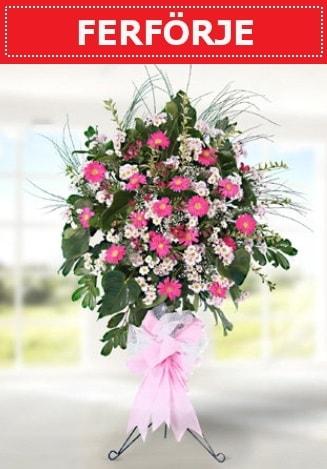 Ferförje düğün nikah açılış çiçeği  Karaman çiçekçi mağazası