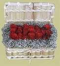 Karaman çiçek mağazası , çiçekçi adresleri  Sandikta 11 adet güller - sevdiklerinize en ideal seçim